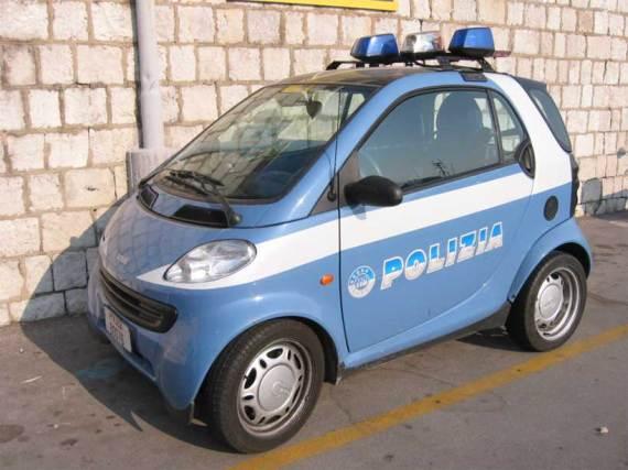 Itty Bitty Cop Car = Cute!