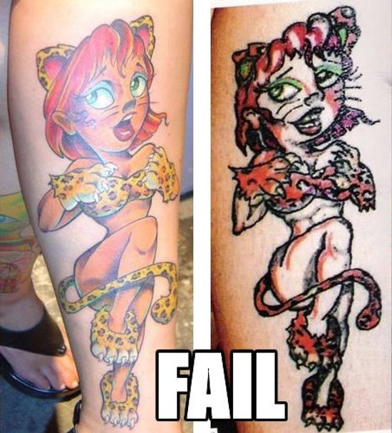 make sure the person can tattoo worth a hoot before getting the tat!