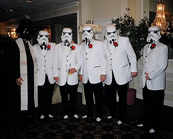 that's a bit different for a wedding party
