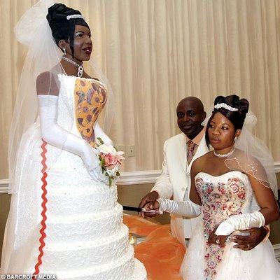 """I'm thinking she was a """"bridezilla""""...what do you think?"""