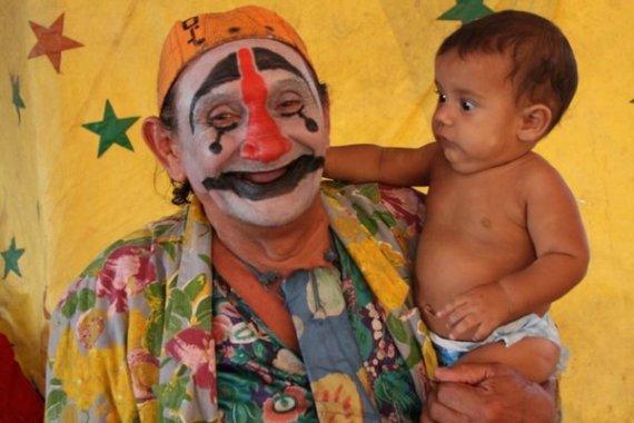 clown-n-baby