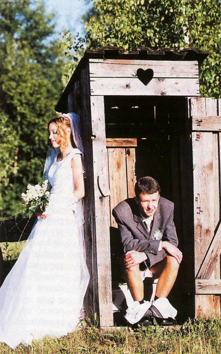 wedding-outhouse