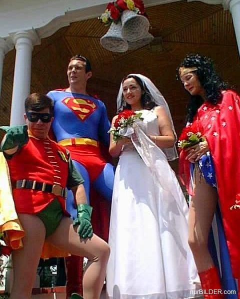 Babies and Weddings kinda go together so here are some strange wedding