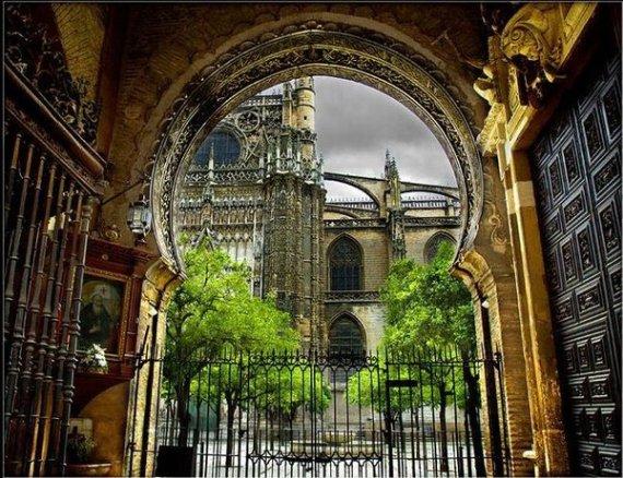 """""""Puerta del Perdon"""" by Eugenio Pastor Benjumeda"""
