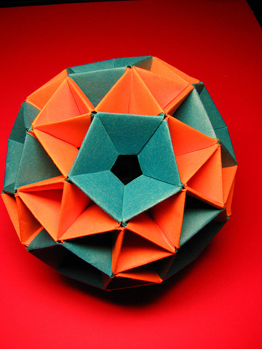 Snub Dodecahedron By: F. Decomite on Flickr